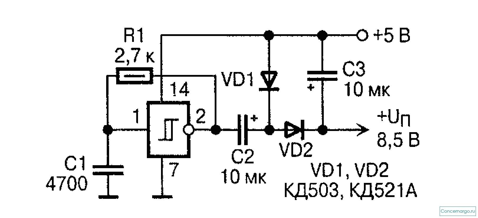 схема преобразователя частоты генераторы частоты